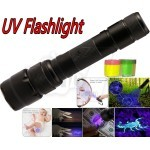 Powerful LED UV Flashlight