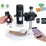 HVCAM Wireless Portable Digital Microscope with 8 LED Light for ios and Android
