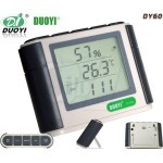 DUOYI DY60 LCD Thermometer and Hygrometer, Humidity/Temperature Measuring