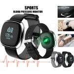 P2 Smart Bracelet with Blood Pressure Monitor, Heart Rate Monitor, Pedometer