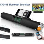 CYD-01 Subwoofer Bluetooth Sound Bar with LED Clock
