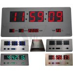 TL3515 Metal Surface Digital Clock with Temperature and Calendar