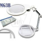 MG3B-1A Foldable Table Double Zoom Magnifier with LED Lamp