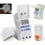 A16 Din Rail Weekly Programmable Electronic Digital Timer Switch