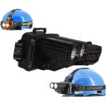 Double LED Headlight Torch with 2 Color Flashlight
