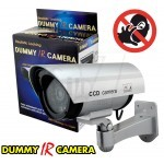 Blinking Realistic Looking Dummy IR Camera Outdoor Fake Bullet Camera With Flashing LED Light Indication