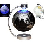 8 inch Magnetic Levitating, Rotating and Floating Antigravity Planet Earth Globe Ball with LED Lights
