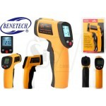 BENETECH GM550 Non-contact Infrared Thermometer IR Temperature Tester with Laser Pointer