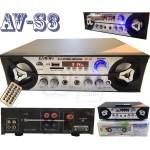 MXZ AV-S3 echo USB SD FM Hi-Fi Stereo Karaoke Audio Amplifiers With Remote and 2 MIC input