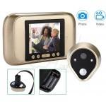 HD Digital Door Peephole Viewer with 3.2 Inch LED Display Visual Doorbell Camera