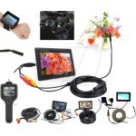 Portable Broscope Endoscope Snake eye Inspection Camera with Monitor and LED Lighting or IR