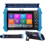 IPC 7 inch Multi Functional IP, Analog,TVI, CVI, CCTV, AHD All in one Camera Tester