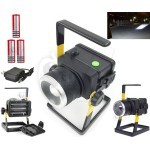 XM-L2 30W LED Rechargeable portable Outdoor Lighting FloodLight Spotlight