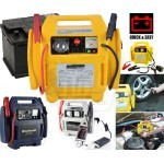 Portable Power Station Car Battery Jump Starter 12 V Quick Start System with Tire Air Compressor