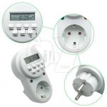 ETG-63A Weekly Programmable Digital Timer with Second Adjust Option