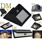 LED Solar Energy Powered Outdoor Wall Light