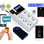 GSM SMS Relay Switch Controller Smart Power Outlet, Wireless Remote Control on Mobile App