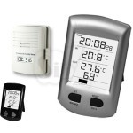 MEDEX E213302 WH0100 Thermometer with Indoor, Outdoor Wireless Temperature and Humidity Sensor