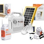 Kamisafe KM-915 Multi function Solar Power Kit with FM Radio, Bluetooth, Flash and SD card Mp3 Player