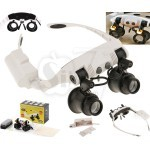 32225-21SX Magnifier with 2LED interchangeable Warm and Cold Light Lampshade