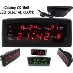 Caixing CX-868 LED Digital Alarm Clock