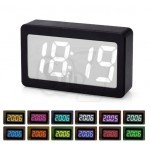 Modern 115 Color Changing Digital LED Display Alarm Clock