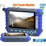 5 Inch Camera HD Tester for IP, AHD, TVI, CVI, HD Cameras