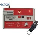زنگ بیسیم مدل 4002 با قابلیت نمایش شماره دکمه ریموت کنترل