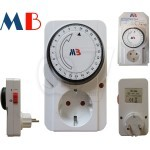 MB-22A 24 hour MechanicalDaily Programmable Timer Switch