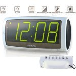 DIGITIME 1819 LED Desktop Alarm Clock