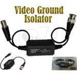 Coaxial Video Ground Loop Isolator Built in Video Balun Transceiver