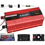 G.H.K 1500W DC 12V to AC 220V Power Inverter