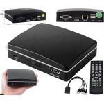 مینی DVR چهار کانال با قابلیت پشتیبانی از رم و هارد دیسک