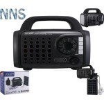 NNS NS-S30LS Multi function Solar Power Kit with Radio, Flash and Mp3 Player