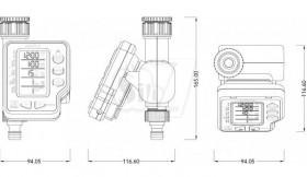 تایمر آبیاری دیجیتال تک خروجی آمیکوپلاس