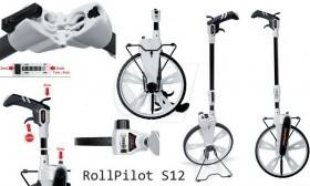 چرخ متر یا رول پایلوت مکانیکی لیزرلاینر سری اس12 مدل 075.005 مناسب خطوط مستقیم و منحنی
