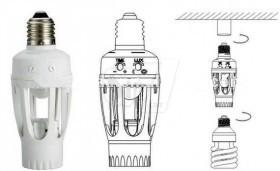 سرپیچ لامپ سنسوردار با حسگر حرکتی و تایمر مدل 451