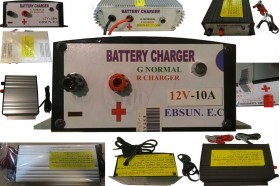 Automatic Smart 12 or 24 Volt Car Battery Charger