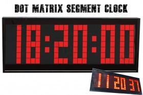 Dot Matrix Segment LED Digital Alarm Clock