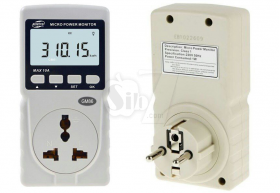 BENETECH GM86 Micro Power Monitor Meter and Energy monitoring socket with LCD Display