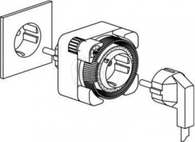 تایمر برق پریزدار تبن مدل 26 ساخت آلمان
