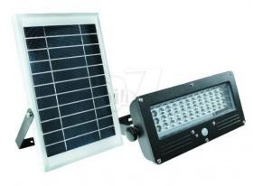 چراغ خورشیدی شارژی 36 لامپی مدل 05 دارای سنسور حرکتی اتوماتیک