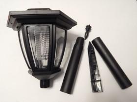 چراغ خورشیدی 64 سانتیمتری با 4 صفحه سولار