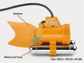 زیردریایی دوربین دار با کابل 20 متری و قابلیت دید در شب