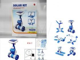 روبات 6 کاره دو چرخ خورشیدی