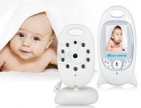 دوربین مراقبت بچه بیسیم با برد 200 متر و قابلیت مکالمه 2 طرفه مدل 601
