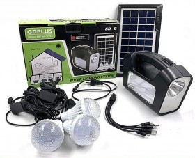 Solar lighting system GD-8 GDPLUS home solar light