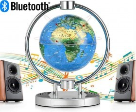 Magnetic Levitating Globe with Bluetooth Speakers