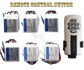 دستگاه قطع و وصل برق کنترلدار 5 کانال 5 گیرنده