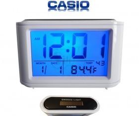 ساعت دیجیتال خورشیدی کاسیو مدل 025 دارای چراغ پس زمینه تاریکی و دماسنج و تقویم